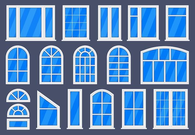 Cadre extérieur et intérieur de forme différente