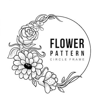 Cadre de fleur