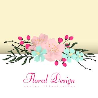 Cadre de fleurs