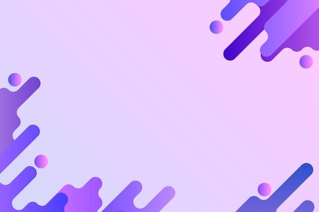 Cadre de fond fluide violet
