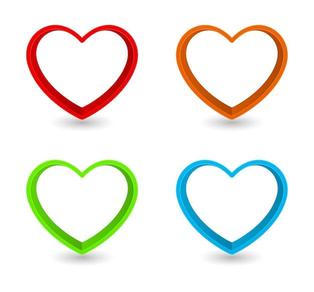 Cadre en forme de coeur