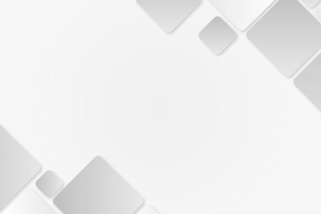 Cadre géométrique gris