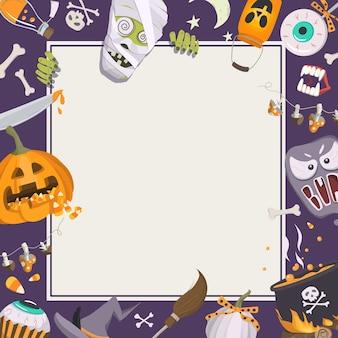 Cadre d'halloween