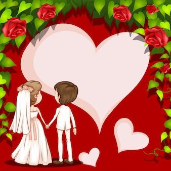 Cadre de mariage