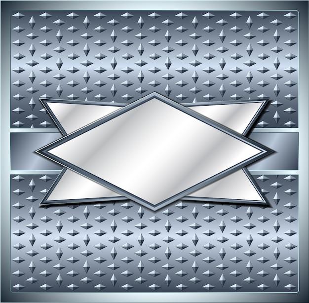Cadre métallique losange