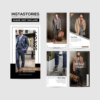 Cadre de modèle instagram stories