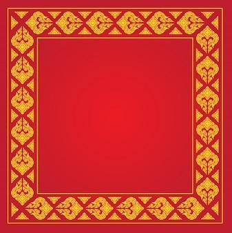 Cadre motif thaï