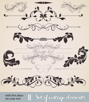 Cadre oscillant panneau de calligraphie florale