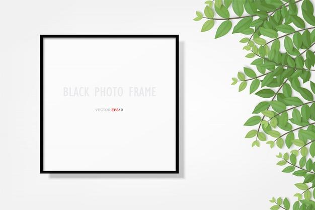 Cadre photo ou fond de cadre photo.