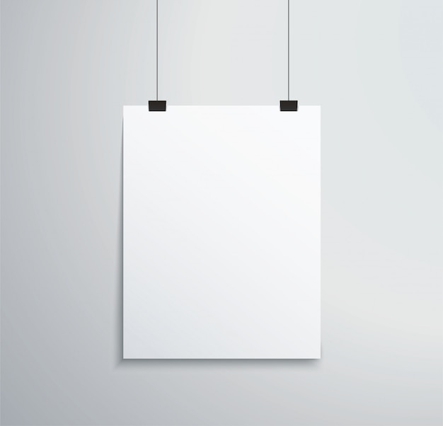Cadre photo isolé sur mur