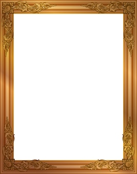 Cadre photo en or