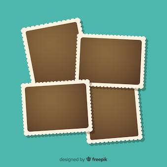 Cadre photo polaroid