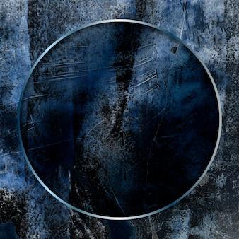 Cadre rond sur le vecteur de fond abstrait
