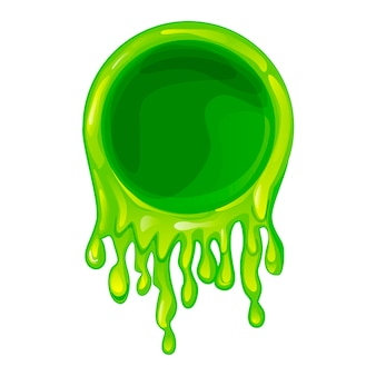 Cadre slime vert