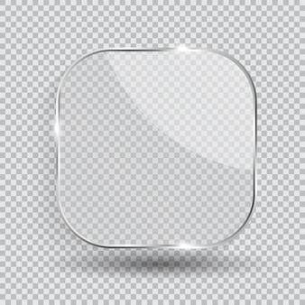 Cadre en verre transparent