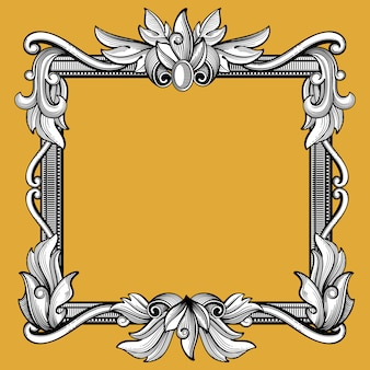 Cadre victorien décoratif