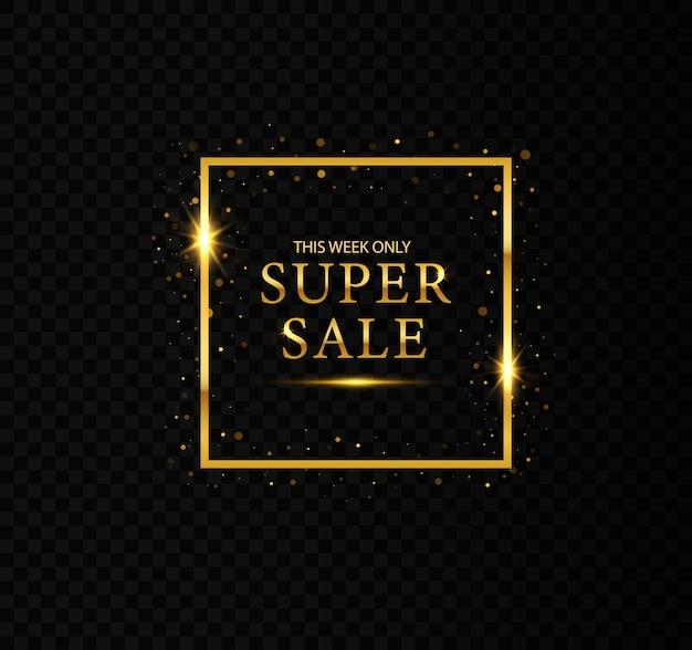 Cadres scintillants dorés à vendre remises sur les ventes meilleur prix nouvelle offre