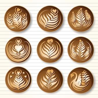 Café d'art latte