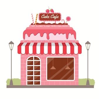 Café de gâteau