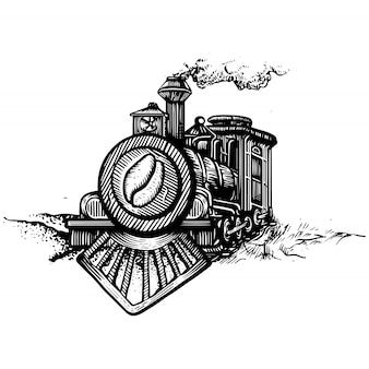 Café de locomotive