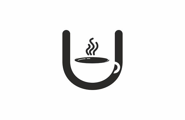 Café logo lettre u