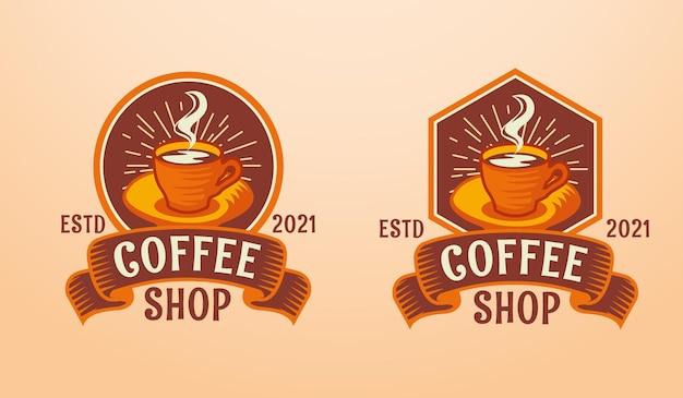 Café logo moderne classique