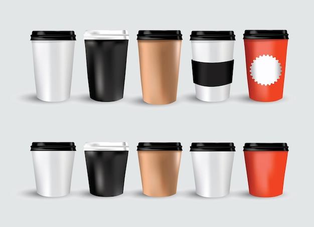 Café renversé chocolat chaud cacao style plat simple illustration vectorielle graphique