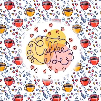 Café Vecteur Premium