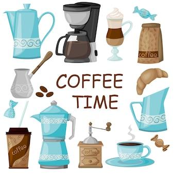 Cafetière moulin à café et tout ce qui touche au café