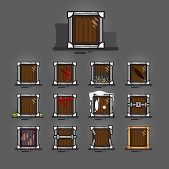Caisses pour jeux vidéo
