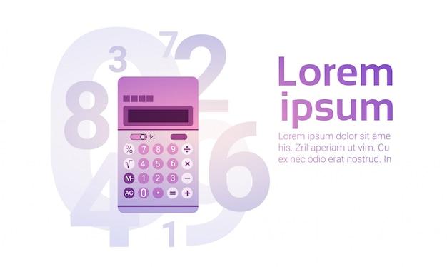 Calculatrice bancaire comptable finance business