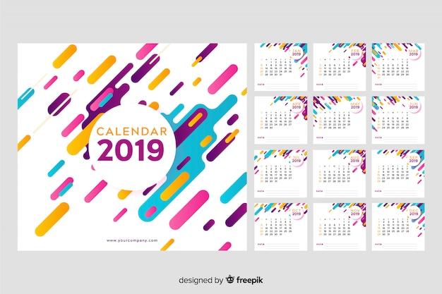 Calendrier 2019 de memphis