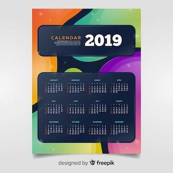 Calendrier 2019