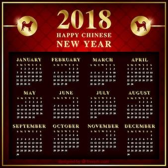 Calendrier du nouvel an chinois