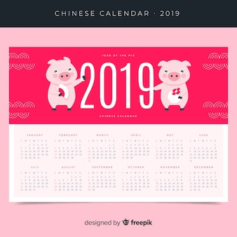 Calendrier du nouvel an chinois