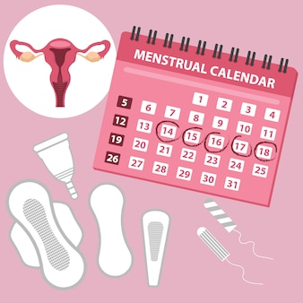 Calendrier menstruation