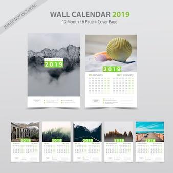Calendrier mural 2019