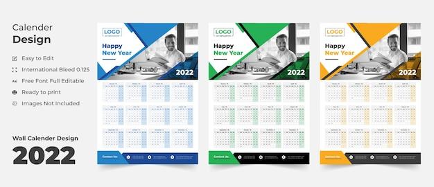 Calendrier mural 2022 calendrier calendrier calendrier planificateur d'affaires annuel calendrier des événements