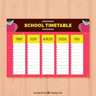 Calendrier scolaire à organiser