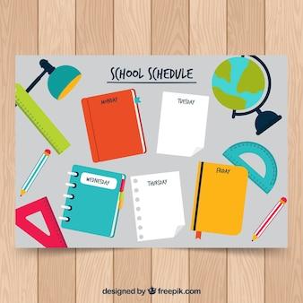 Calendrier scolaire pour organiser des activités