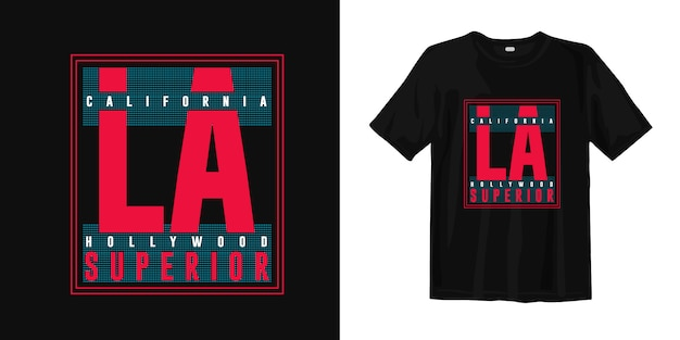 California hollywood, los angeles fashion t-shirt design pour imprimer