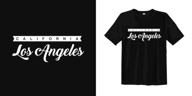 Californie los angeles. usa t-shirt design vintage style urbain porter