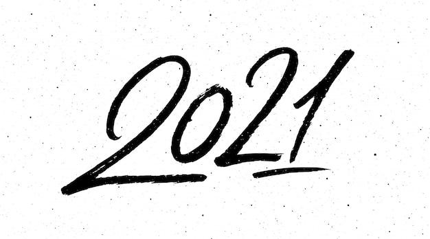 Calligraphie pour le nouvel an du buffle 2021