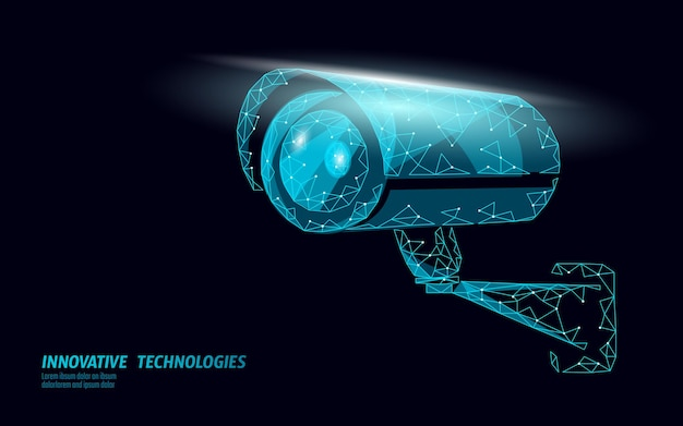 Caméra numérique de contrôle de confidentialité cctv