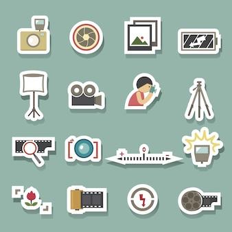 Caméra symbole vecteur