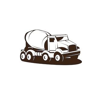 Camion de ciment