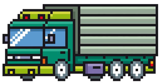 Camion de dessin animé