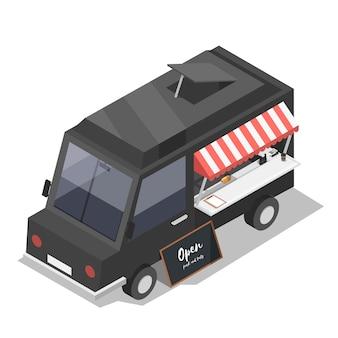 Camion De Nourriture Vecteur gratuit