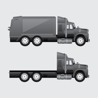 Camion pour la livraison
