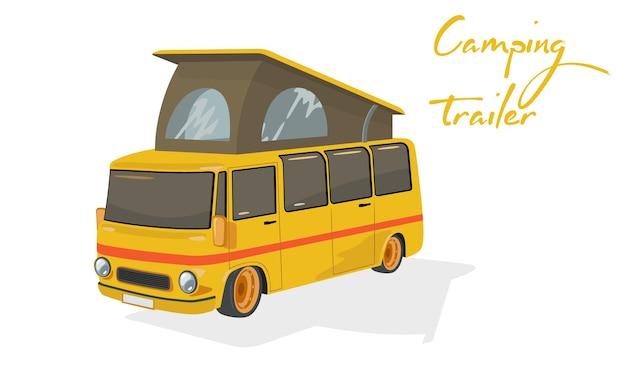 Camion de ville pour les gens de transport rapide à destination